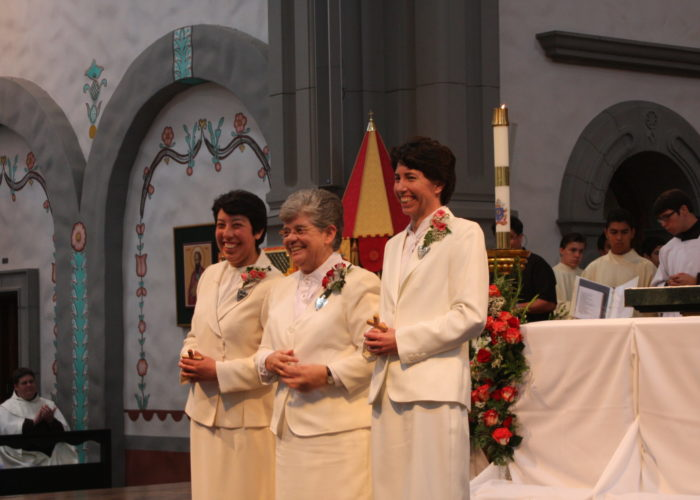 Sr Micaela and Sr Laura after Vows