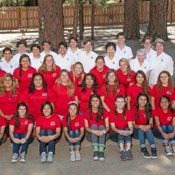 Girls' Camp Photo