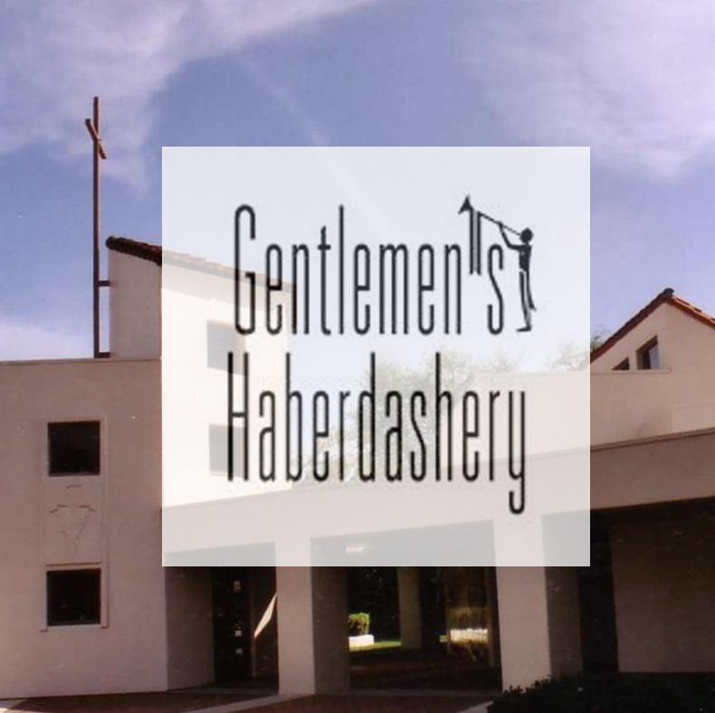Gentlemen's Haberdashery Fundraiser