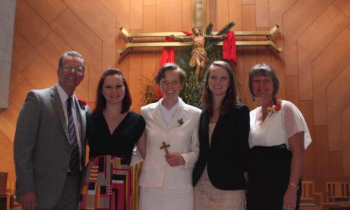 SrHannah with family