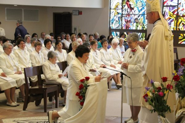Sister Arlene's renewal of vows