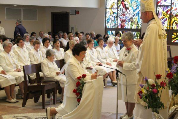 Sister Arlene's renewal of vows