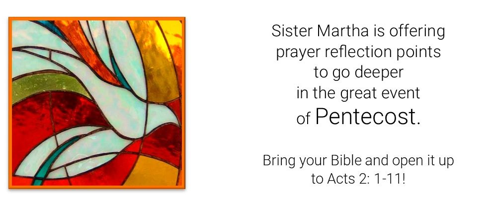 Pentecost prayer reflection