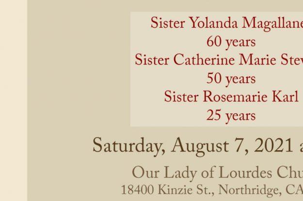 August 7, 2021 Jubilee Celebration